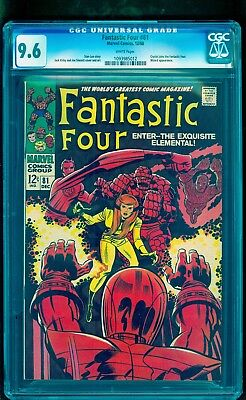 Fantastic Four 81 Cgc 9.6 Nm+ White * Crystal Joins * See Our Ff 48 49 50 72 75