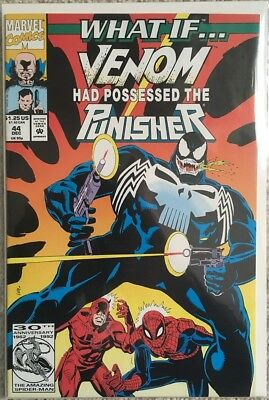 What If #44, What if Venom possessed Punisher, NM, Marvel