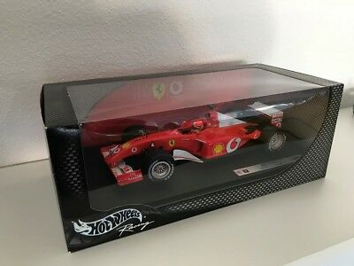 Ferrari F2002 Formel1 (2002) MSchumacher in 1:18 von Hot Wheels Racing - NEU+OVP