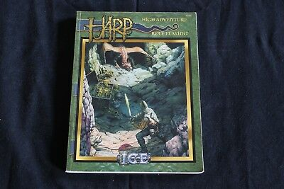 High Adventure Role Playing (HARP) - Core Rules, Martial Law, Cyradon (w. Map)