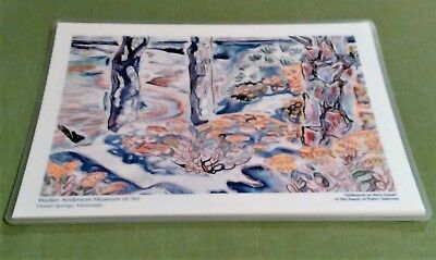 """Walter Anderson """"Goldenrod on Horn Island"""" Placemats Set of 4"""