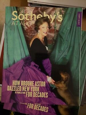 Sotheby's At Auction HOW BROOK ASTOR DAZZLED NEW YORK SEP - OCT 2012