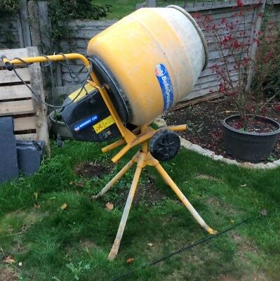 Belle Cement Mixer Minimix 130 230v Electric Concrete Mixer