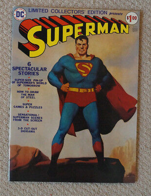 Superman Limited Collectors Edition C-31 DC 1974 Very Fine
