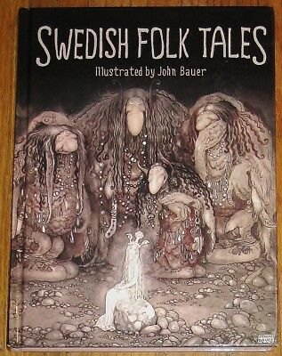 SWEDISH FOLK TALES : illus by John Bauer : hardcover