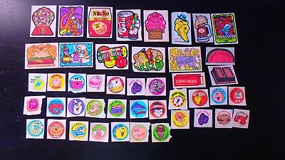 Vintage 1980's Scratch and Sniff Sticker Lot
