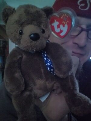 TY Beanie Baby HERO the Father's Day Bear born June 18, 2000