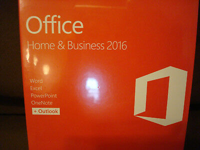 Microsoft Office Home and Business 2016 Windows English PC Retail T5D-02776