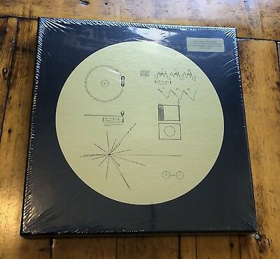 Voyager Golden Record - 40th Anniversary Vinyl - Carl Sagan - Chuck Berry