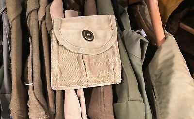 Salty WW2 US Military Army USGI M-1 M1 Carbine Canvas Ammo Butt Stock Mag Pouch