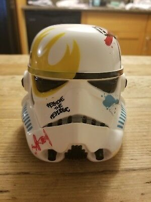 Disney Star Wars Rebels Stormtrooper Helmet With Graffiti Watch and case