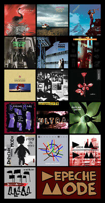 DEPECHE MODE DISCOGRAPHY magnet (4 5