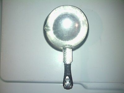vantage pan with attched underplate #610 silver look