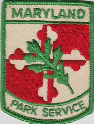 vintage State of Maryland Park Service patch  MD