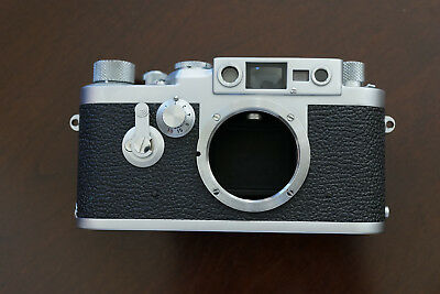 Beautiful Leica IIIg Leitz 3g Rangefinder Screw Mount Camera Body LTM