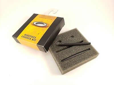 NEW AUTHENTIC Oakley WIRE BLACK EARSOCKS & NOSE PAD KIT GENUINE RARE 06-485