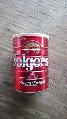 Vintage Unopened Can Of Folgers Coffee