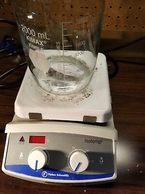 Fisher Scientific Isotemp 7x7 Ceramic Top Heated Magnetic Hotplate / Stirrer