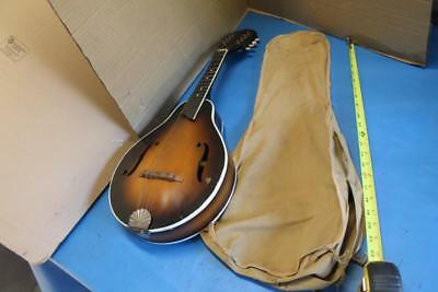 Vintage 8 String Mandolin 2 Tone With Soft Cover