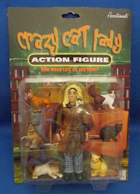 Crazy Cat Lady 7 Piece Action Figure Set - Accoutrements