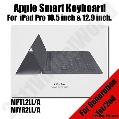 Apple Smart Keyboard for 10.5 inch & 12.9 inch for iPad Pro - BLACK -