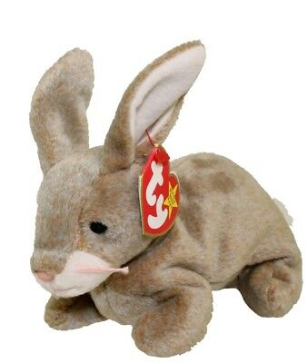 TY BEANIE BABY Nibbly the Rabbit, MULTIPLE ERRORS