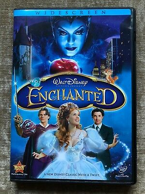 Enchanted (DVD, Widescreen) Amy Adams, Patrick Dempsey, James Marsden