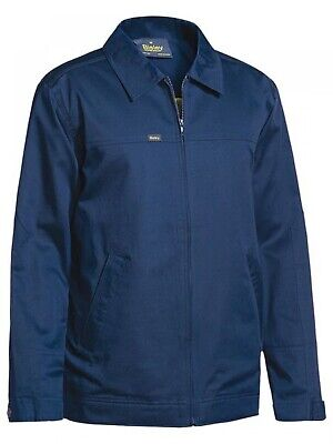 NEW Bisley Jacket  Cotton Drill Jacket Navy - Safety Clothing -  Clothing