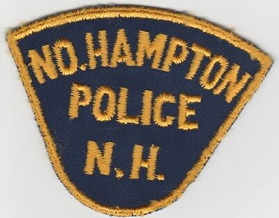 vintage North Hampton, New Hampshire Police Dept patch  NH   old style
