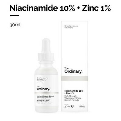 [The Ordinary]Niacinamide 10% + Zinc 1% 30ml High-strength vitamin and mineral