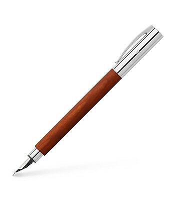 Faber-Castell Fountain Pen - Ambition - Pearl wood / Extra Black Barrel And Lid