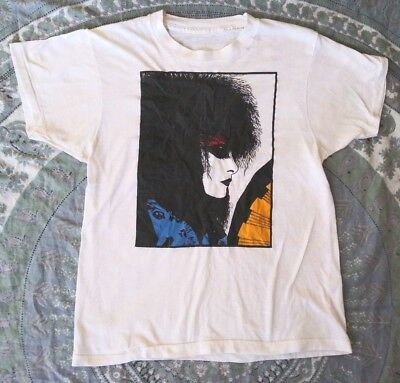 Vintage SIOUXSIE and the Banshees T-Shirt M 80s 50/50 Goth Bauhaus Sex Pistols