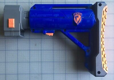Nerf N-Strike Blue Elite CS-35 Raider Adjustable Shoulder Stock Retractable