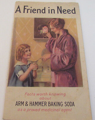 Arm & Hammer Baking Soda A Friend in Need Vintage Booklet 1933