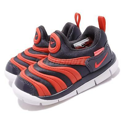 Nike Dynamo Free TD Gridiron Flash Crimson Toddler Infant Baby Shoes 343938 -015 e5f64098d