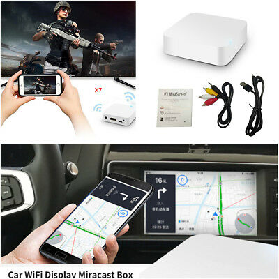 MIRROR LINK BOX WiFi Display Android iOS Navigation Miracast