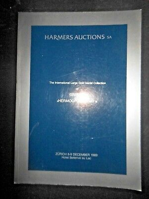 Harmers Auctions Switzerland Int'l Gold Medal Collection Greece Hermoupolis Coin