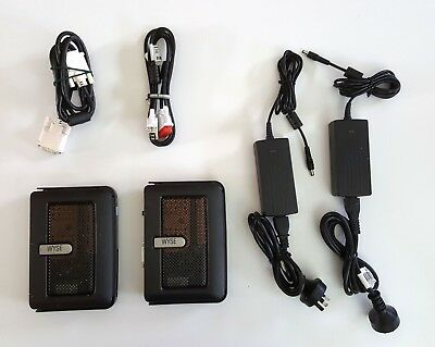 2 WYSE terminals with Power & Video cables, (Cx0 C10LE) 1GHz / 512MB RAM / 128MB