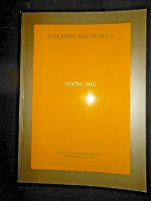 Harmers Auctions Switzerland International Philatelic Stamps Sale Catalog 1989