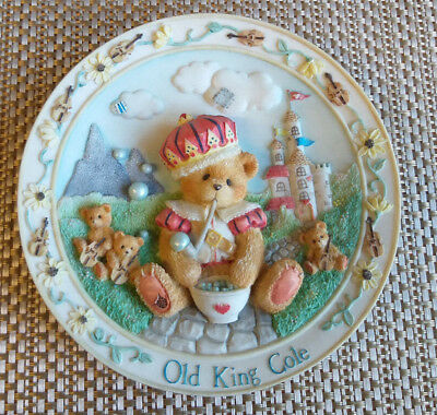 "Cherished Teddies Old King Cole ""You Wear Your Kindness Like A Crown"""
