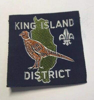 Australian Scout Badges King Island District Badge