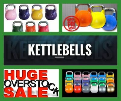 8 kg PINK Competition Grade PRO STEEL KETTLEBELL - on sale - Best price