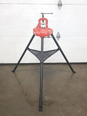 Ridgid 40-A Vise Tripod Stand Use With Your Pipe Threading Threader 300 700 2 👍