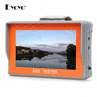 "EYOYO 4,3"" HD 1080P AHD CCTV Kamera Test Display Monitor Tester DC 12V-Ausgang"