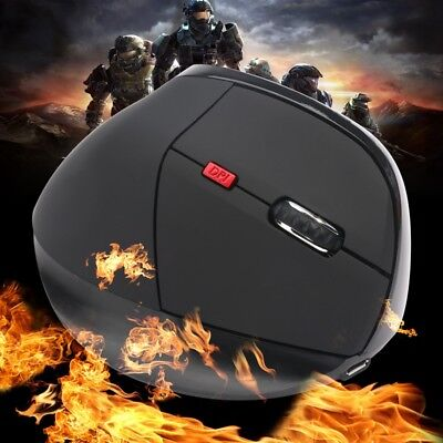 HXSJ X60 2,4 GHz 800/1600 / 2400DPI 6-Tasten Wireless Gaming Maus Ergonomis K5W4