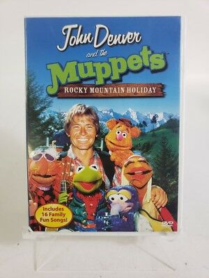 john denver and the muppets a rocky mountain holiday dvd - John Denver Christmas Songs