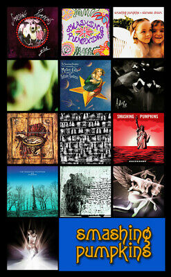 "SMASHING PUMPKINS album discography magnet (4.5"" x 3.5"") shiny oh so bright"