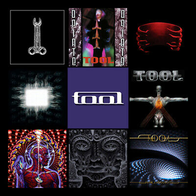 "TOOL album discography magnet (3.5"" x 3.5"")"