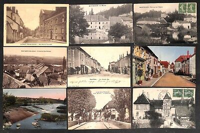 70 - Lot 9 CPA - VESOUL, MONTBOZON, VAUVILLERS, MARNAY, GY, ...