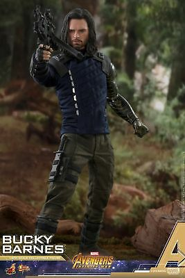 Hot Toys Avengers Infinity War 1/6 scale Bucky Barnes Collectible Figure MMS509